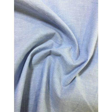 Джинс рубашечный облегч. голубой
